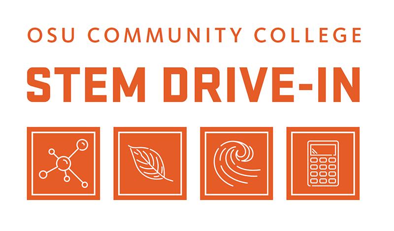OSU Community College Drive In Logo
